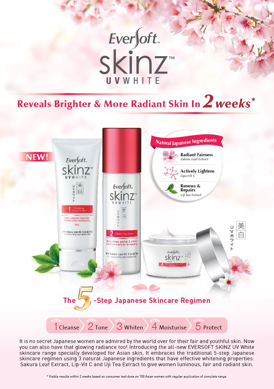 Eversoft skinz UV White Skincare